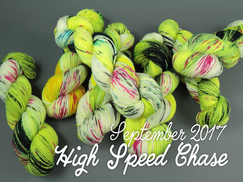 Yarn Club September 2017: 'High Speed Chase'