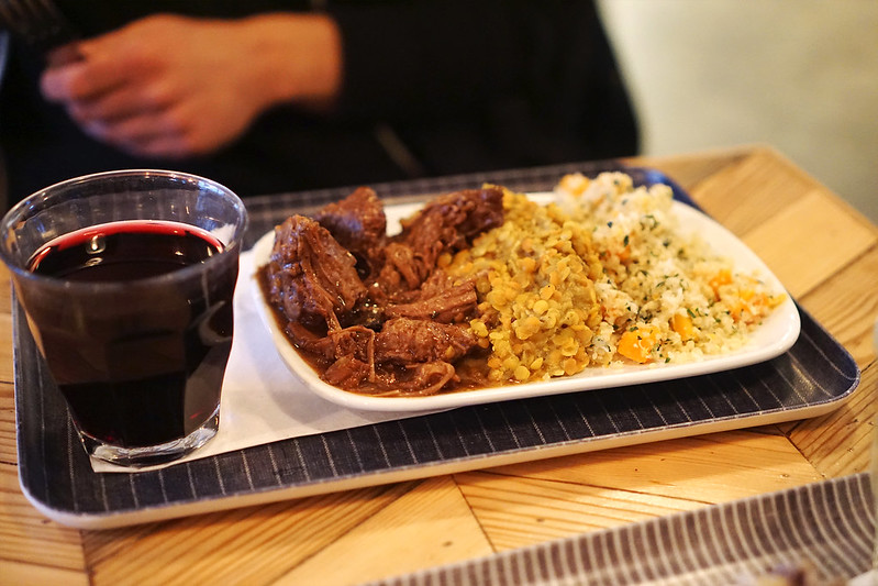 Gluten free beef brisket, lentils and quinoa from Farmstand | Covent Garden | Central London | 100% gluten free