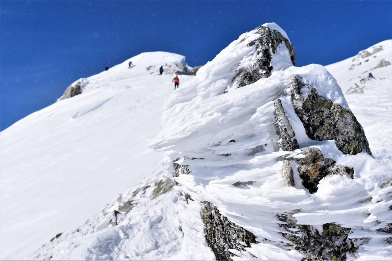 唐松岳登山 えびの尻尾
