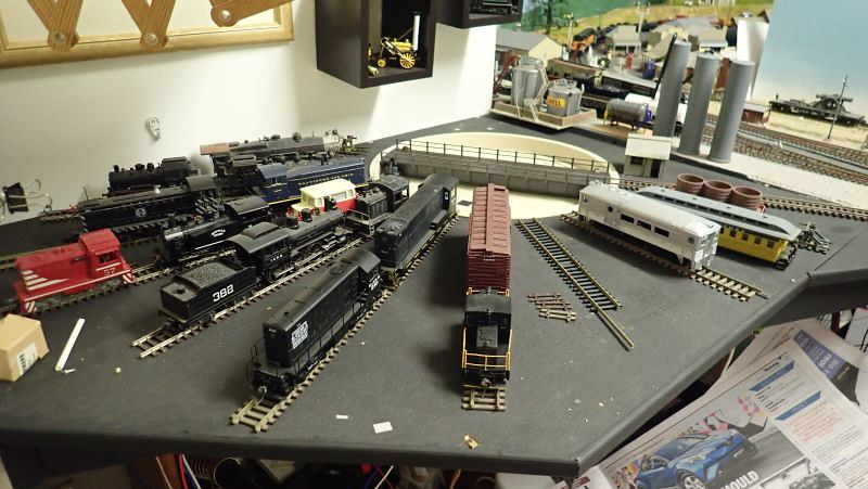 Painted and done. Now for some more work on the depot!