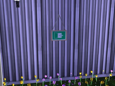 The Sims 2 Open For Business Open Close Signboard Açık Kapalı Tabelası
