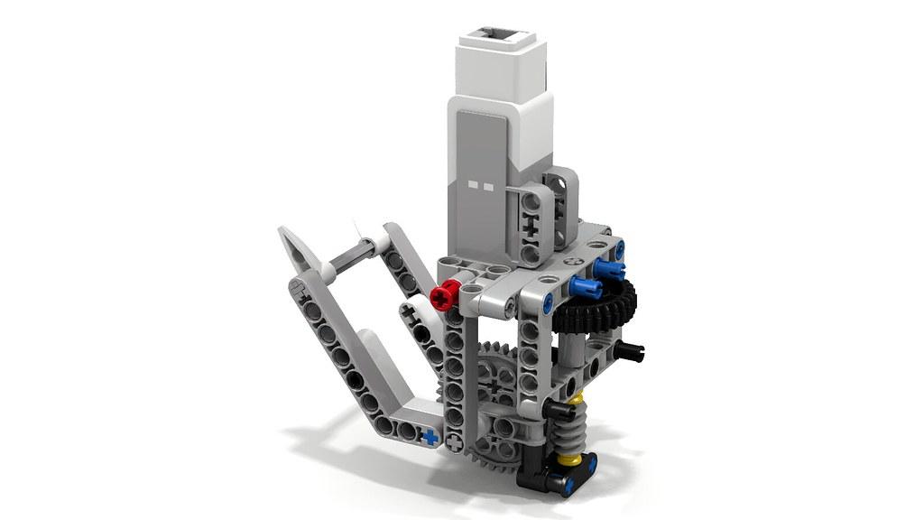 Lego EV3 Lifter by Ted Bricks   This powerful Lego ...