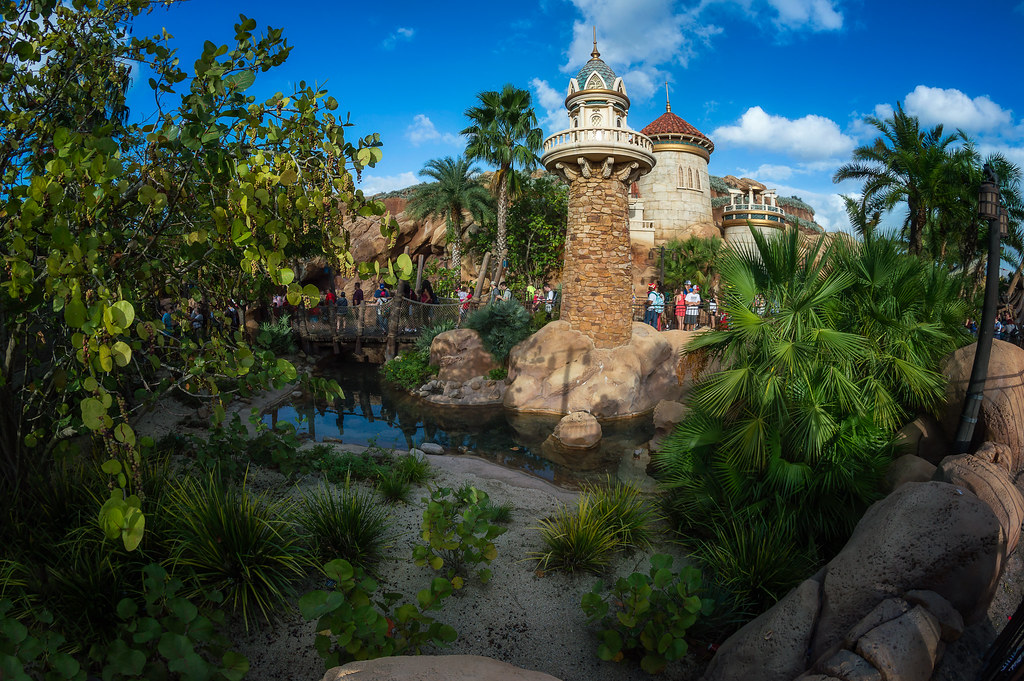 Prince Eric's Castle | by MarcStampfli Prince Eric's Castle | by  MarcStampfli - Prince Eric's Castle Under The Sea Fantasyland Magic Kingd… Flickr