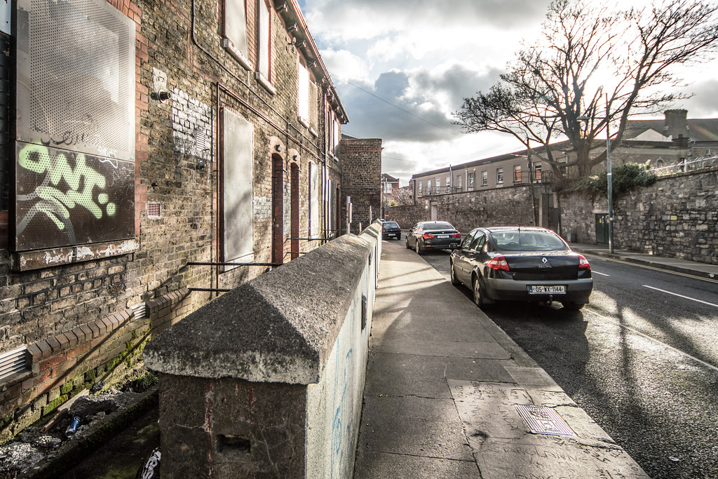 DERELICT BUILDINGS IN GRANGEGORMAN 003