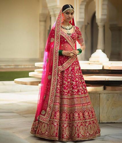 dresses Buy Now Lotus Pink Banarasi...
