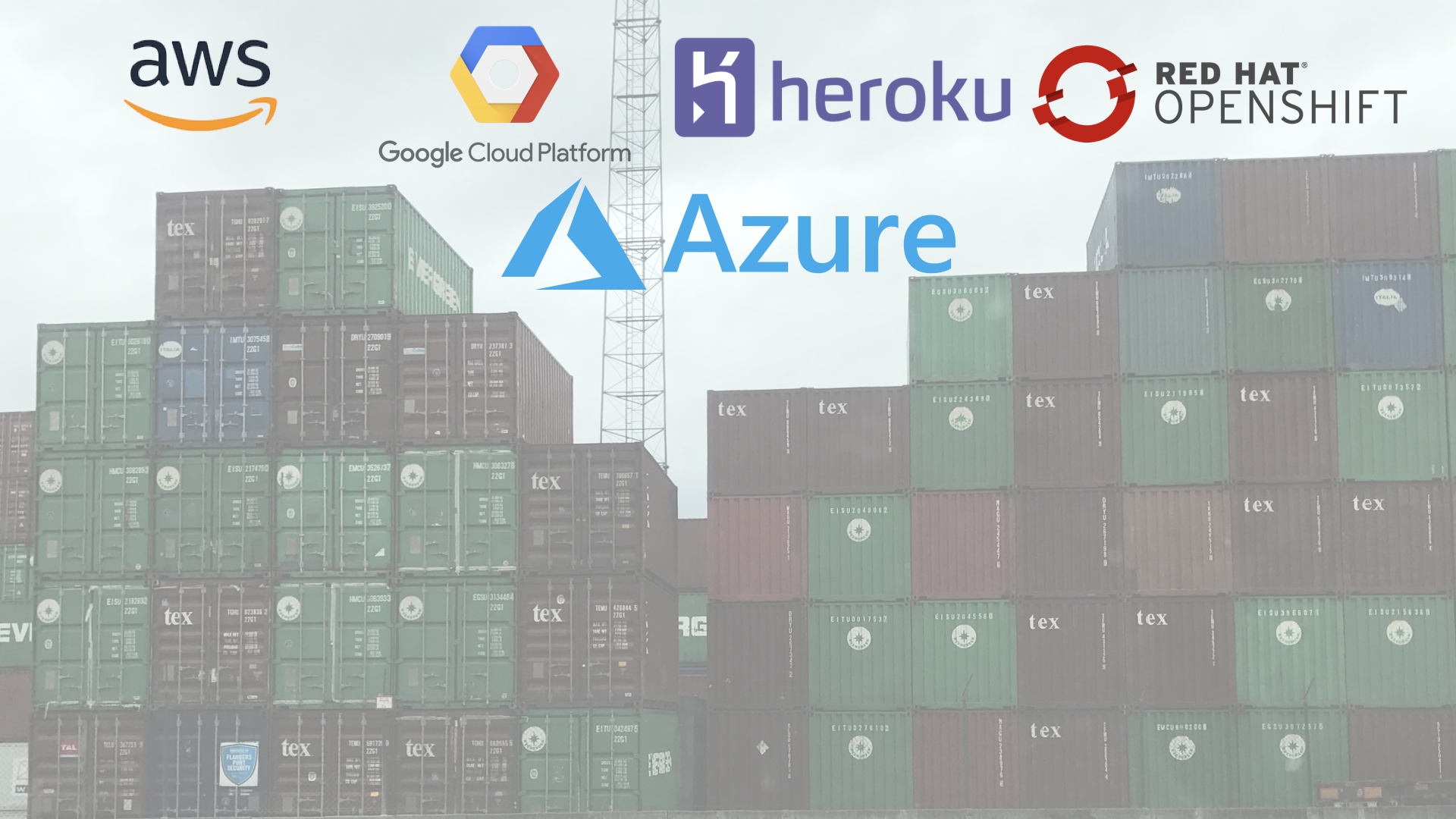 Containers in the cloud