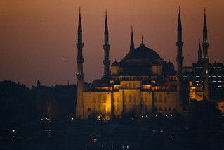 Sultan Ahmet after Sunset | by kaansidekick