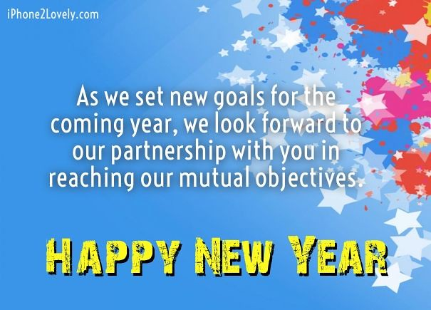Happy New Year 2018 Quotes : Business New Year Messages Wo ...
