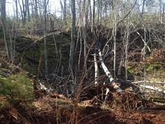 Small Mine Cut Near Neel Lake