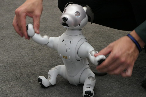 CES2018_Sony_Aibo_RochelleWinters | by ETC-USC