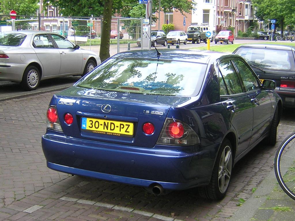 Lexus IS 200 (20 08 2003) | Rotterdam Exported | Henri ...