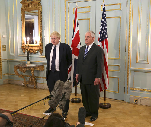 Secretary Tillerson And Foreign Secretary Johnson Address Flickr