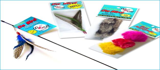 Flapping Bird Cat Toy