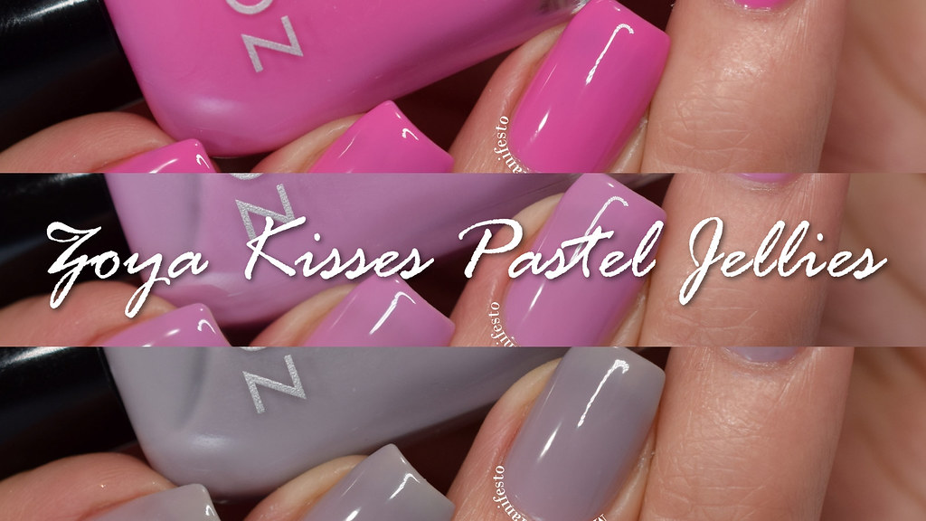 Zoya Pastel Jelles collection