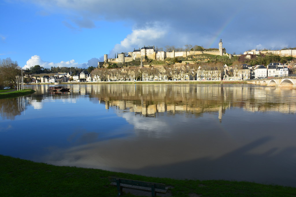 La vienne en crue office de tourisme azay chinon val de loire flickr - Office de tourisme de chinon ...