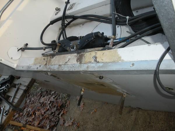 265 transom cap repair | Grady White Boat Owner's Forum