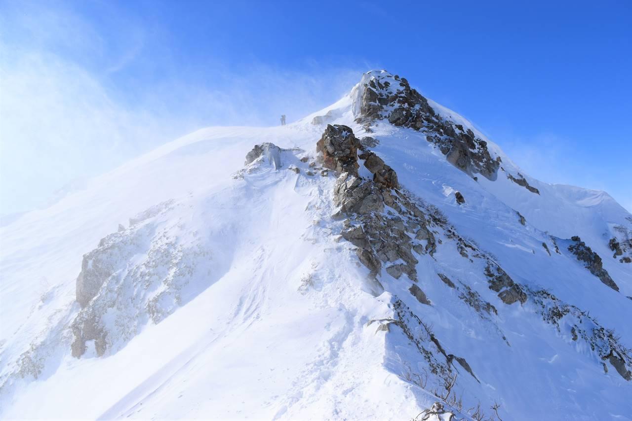 冬の唐松岳登山