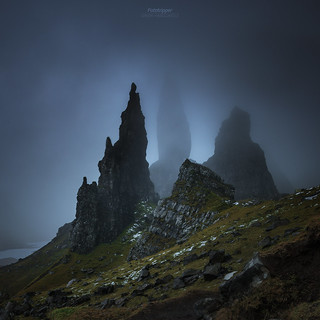 'The Vanishing' - Old Man of Storr | by Gavin Hardcastle - Fototripper