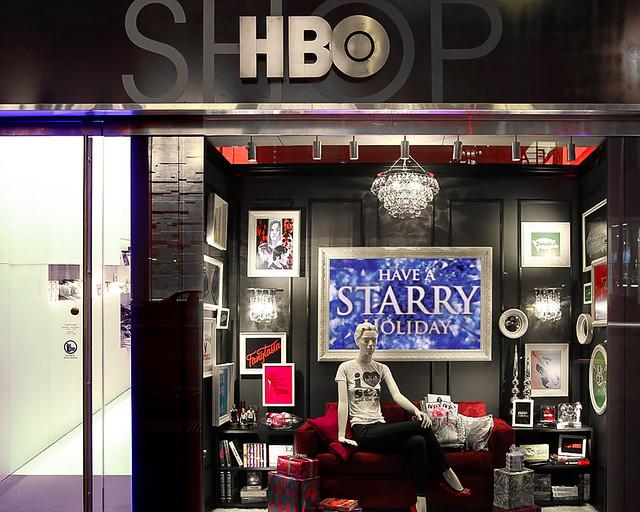 Tienda de series en Nueva York