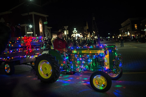 Manchester, Vermont Tractor Parade | by goingslowly