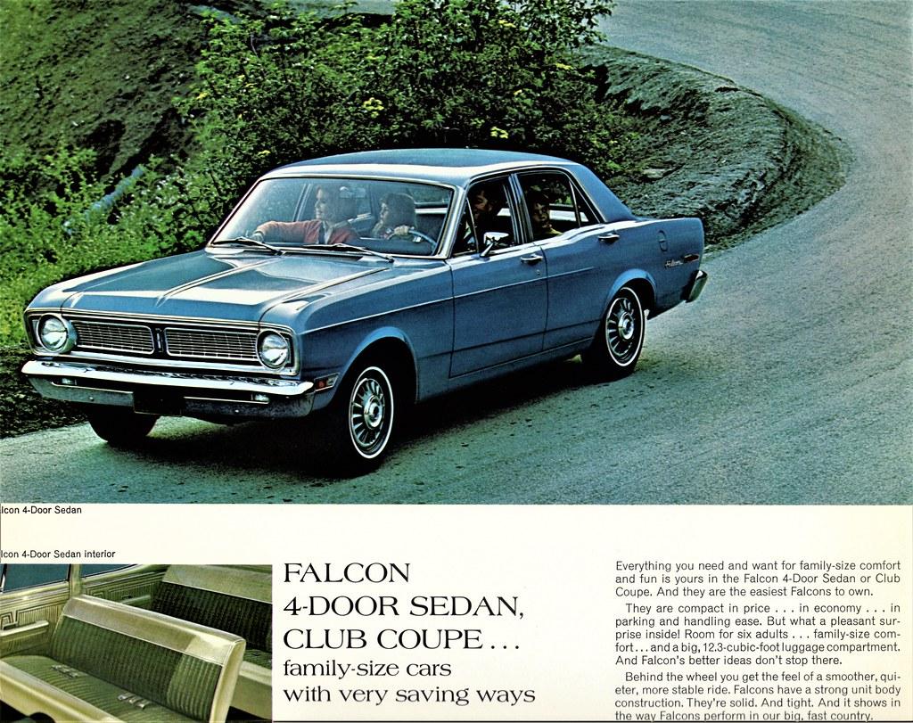 1968 ford falcon 4 door sedan alden jewell flickr. Black Bedroom Furniture Sets. Home Design Ideas