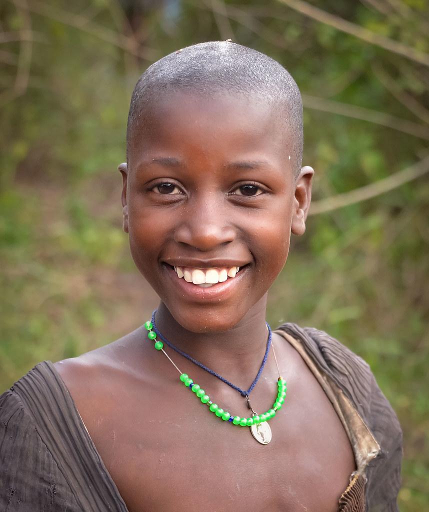 Ugandan Girl  Uganda  Rod Waddington  Flickr-8637