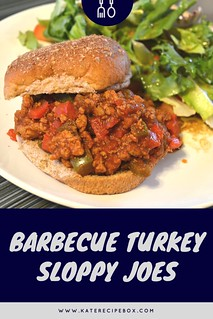 Barbecue Turkey Sloppy Joes | by katesrecipebox