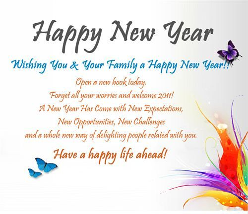 Happy New Year 2018 Quotes : Happy New Year Wishes For Fam… | Flickr