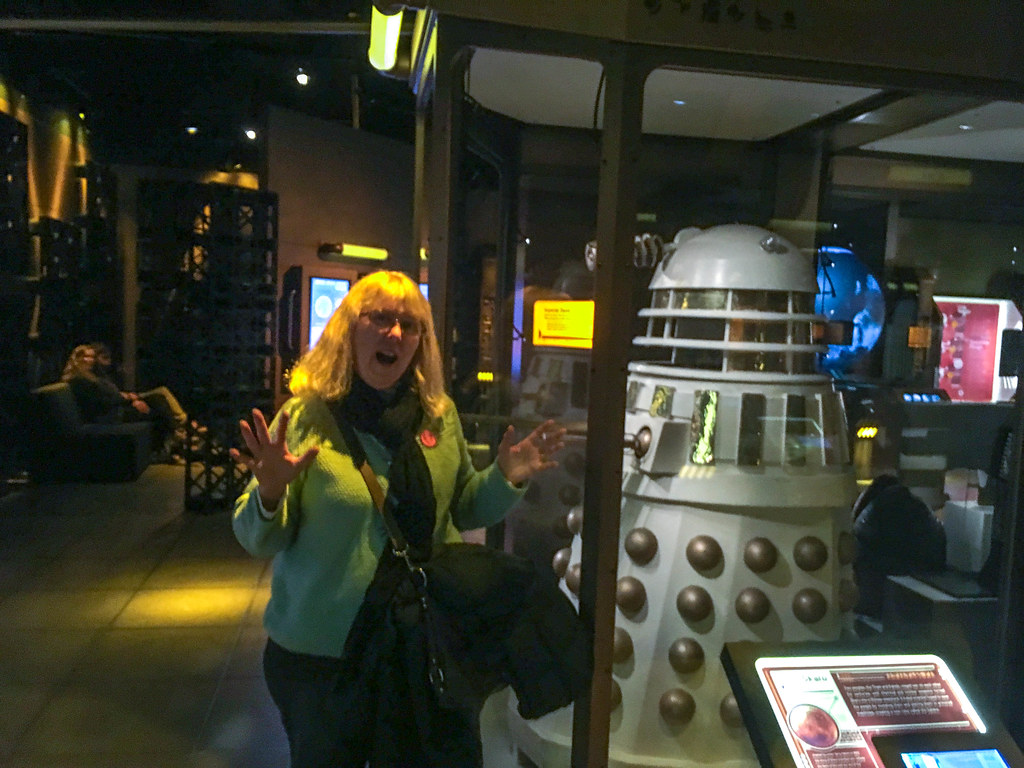 laura with dalek | tom taylor | flickr