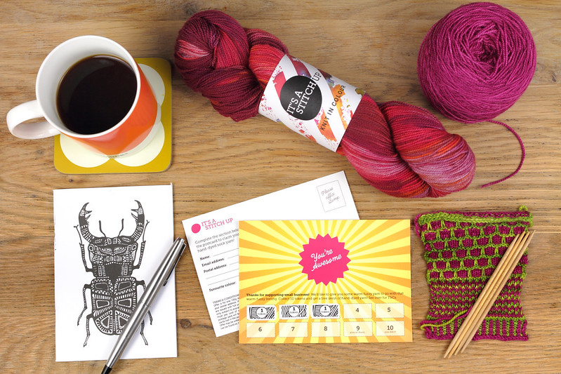 It's a Stitch Up Yarn Loyalty Card