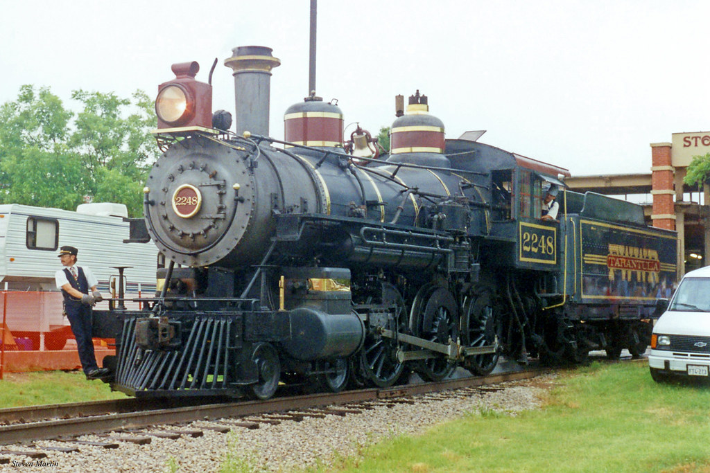 Tarantula Train Locomotive 2248, Fort Worth Stockyards, 19 ...
