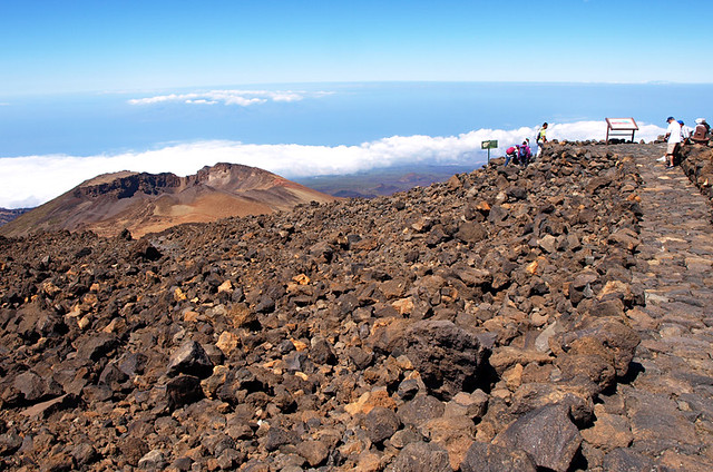 View above Pico Viejo, Teide National Park, Tenerife
