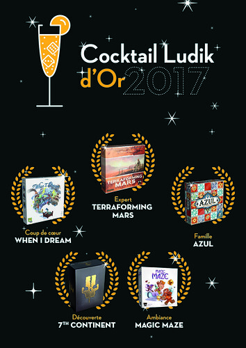 Résultats cocktail-ludik d'or 2017