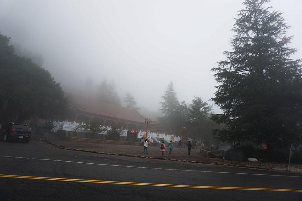 迷霧中的梨山賓館