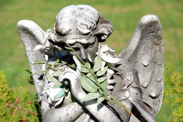 Friedhof Bellinzona (Tessin, CH) - Engel - Foto: Brigitte Stolle, Mannheim
