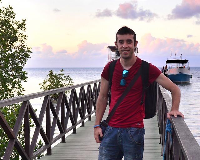 A la entrada de Palma Rubia, justo antes de ir a Cayo Levisa