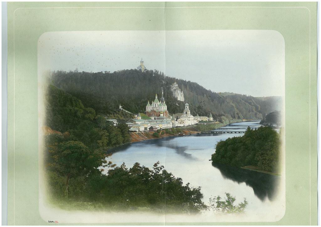 Фотографическое изображение Святогорской Пустыни. 80-е гг. XIX в.