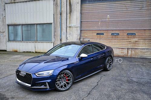 2018 Audi S5 Sportback | Prestige, Navarra Blue over Rotor ...