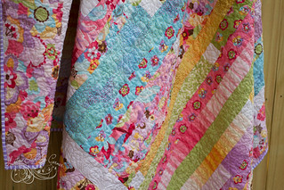 Coquette Jelly Roll Race Quilt | by MagnoliaFly