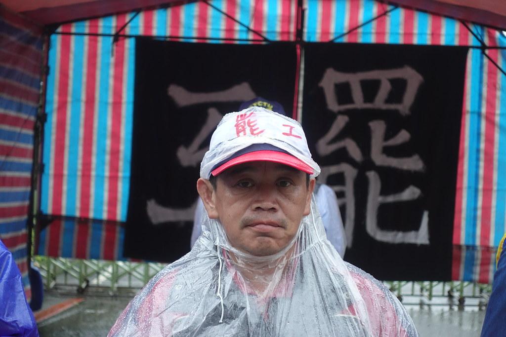 美麗華工會持續罷工中。(攝影:張智琦)