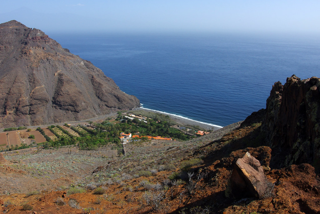 day 1 view of el cabrito la gomera is one of spain 39 s cana flickr. Black Bedroom Furniture Sets. Home Design Ideas