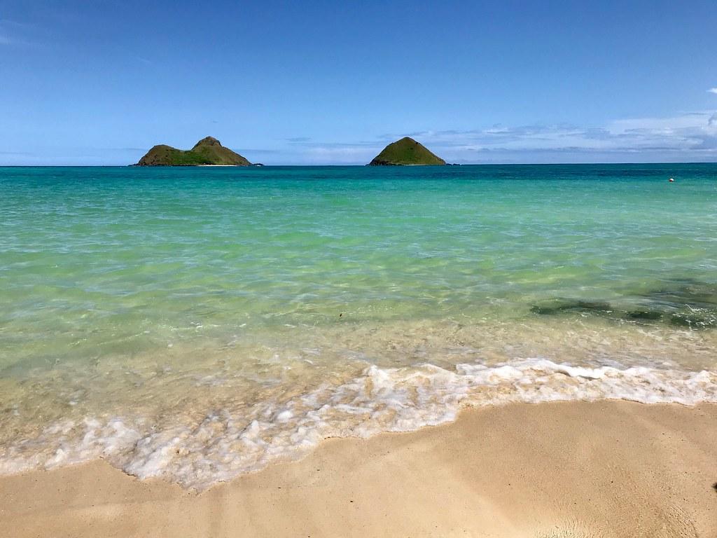 Na Mokulua Hawai: Na Mokulua Islands, Lanikai Beach