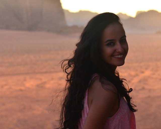 Esperando el atardecer en Wadi Rum