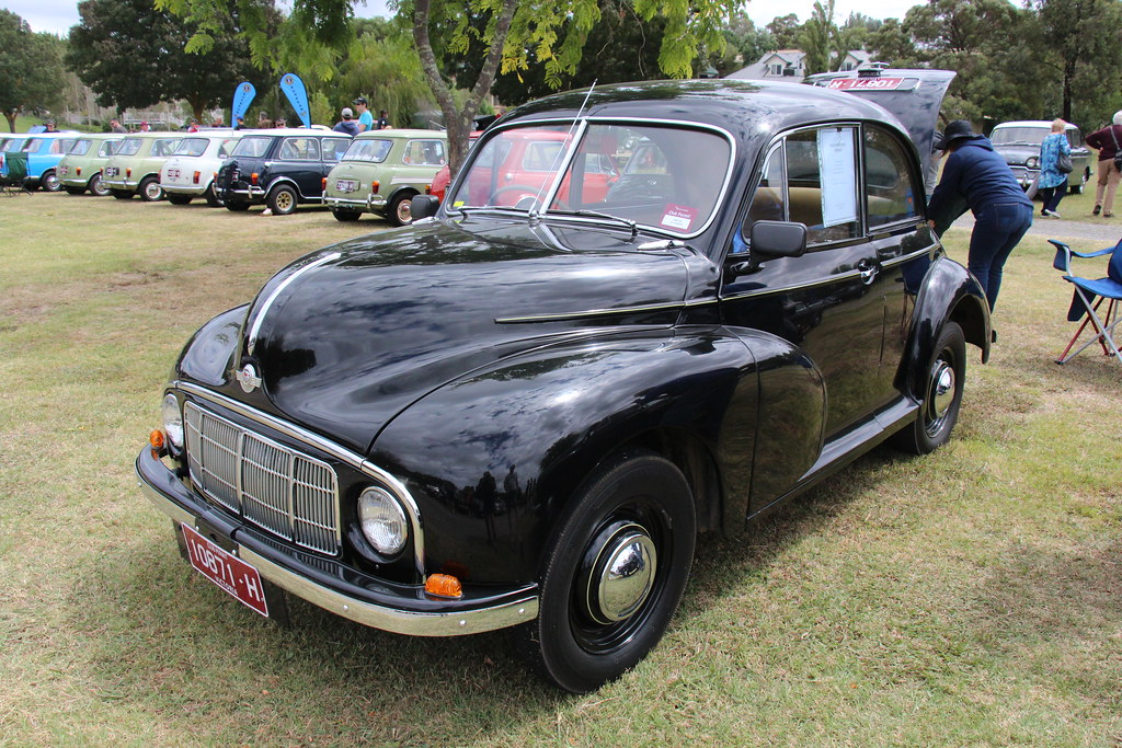 1950 Morris Minor Mm Saloon Morris Cars Were Available
