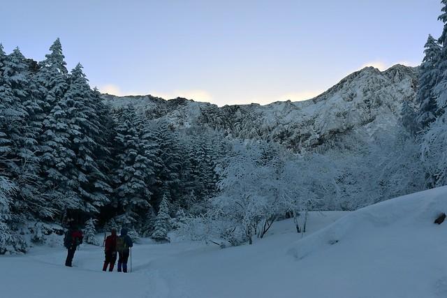 冬の赤岳(八ヶ岳)に挑む