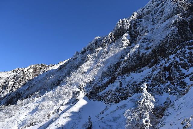 冬の八ヶ岳登山 雪の赤岳~横岳