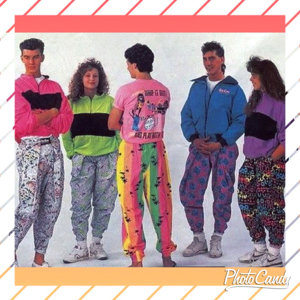 Late 80s Early 90s Pastel Clothing Advertisement | matthew ...
