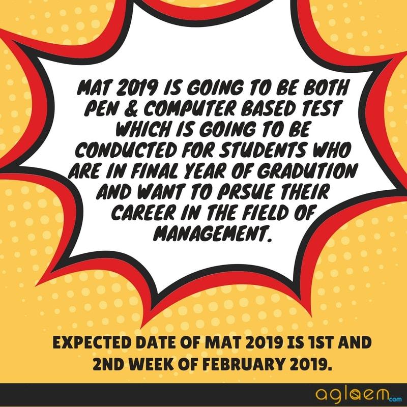 MAT 2019
