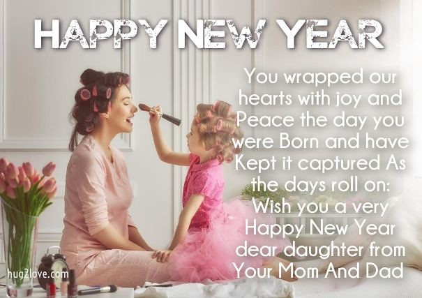 Happy New Year 2018 Quotes : New Year Wishes for Daughter … | Flickr