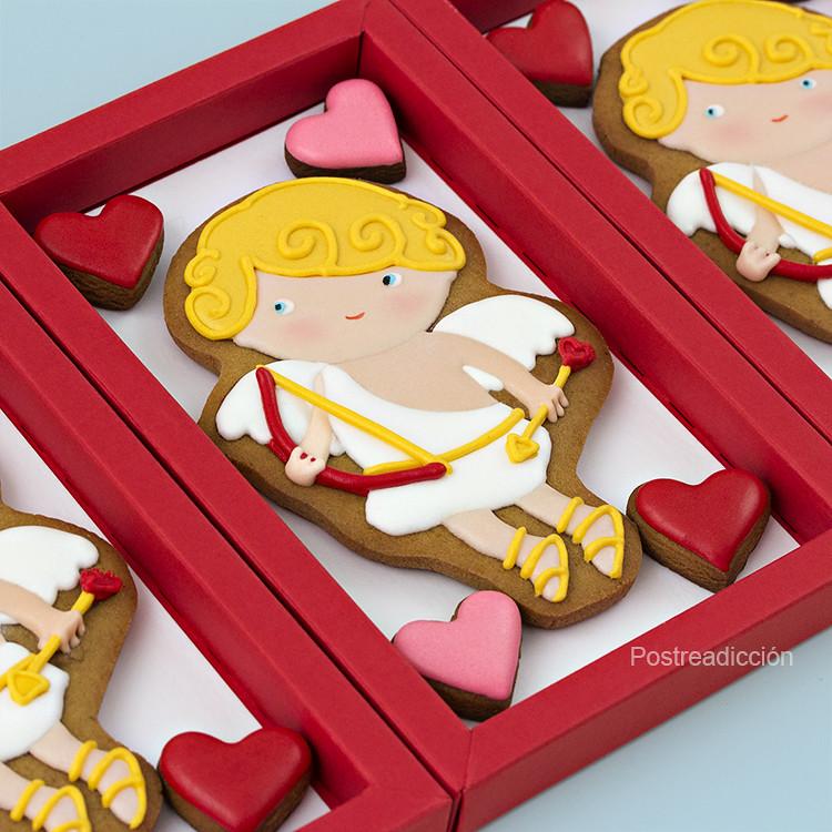 galletas decoradas cupido